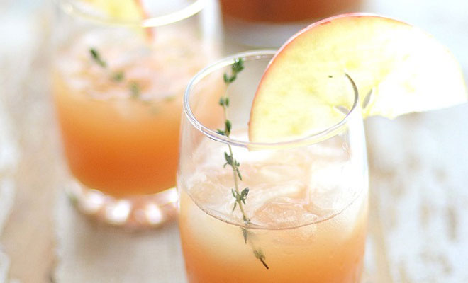 Cider Rum Punch Cocktail Recipe