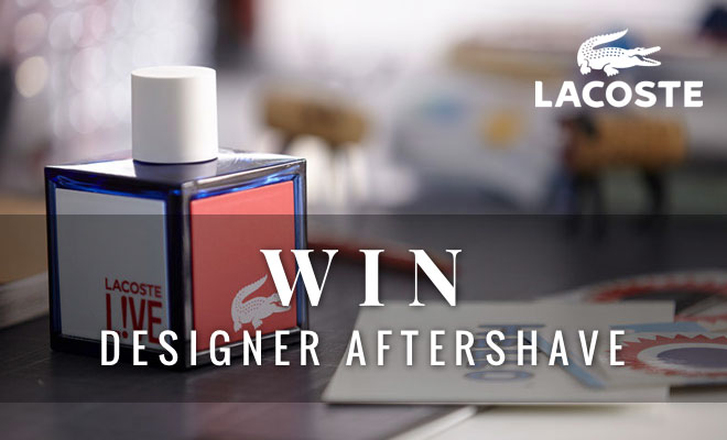 Win Lacoste Live Designer Aftershave