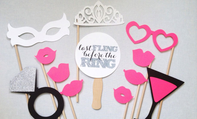 Photo Booth Hen Party Inspiration
