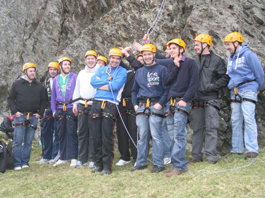 Rock Climbing and Abseiling Stag Do