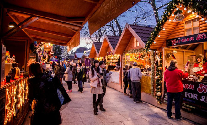 Christmas Market Hen Party Ideas in Ireland