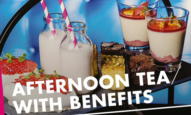 Afternoon Tea With Benefits at Malmaison Belfast