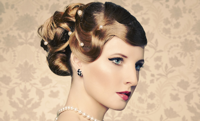 Vintage Hairstyles Hen Party Ideas