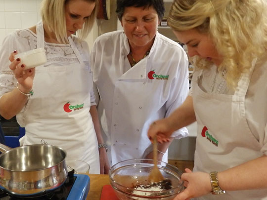 Classy Hens Cookery Class