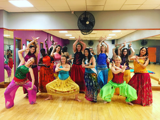 Bollywood Dance Class Hen Party