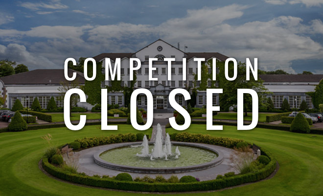 - CLOSED - Win a Luxury Spa Break for 2 at Slieve Russell Hotel