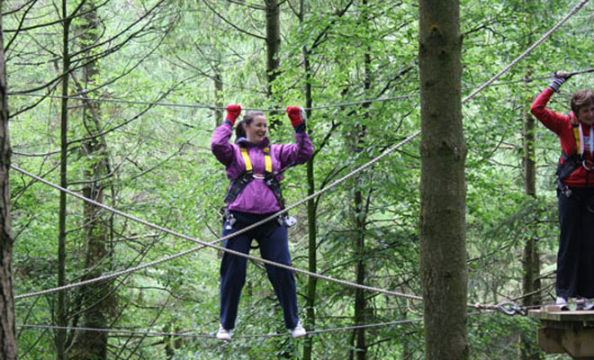 Tree Top Hen Party Ideas
