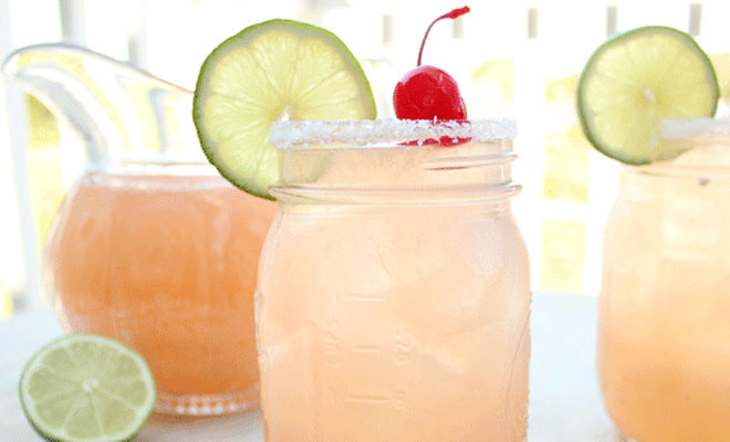 Cherry Beer Margaritas Cocktail Recipe