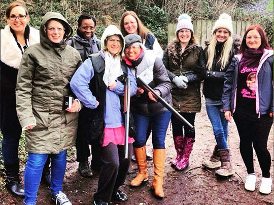 Hen Party Clay Shooting and Quad Biking