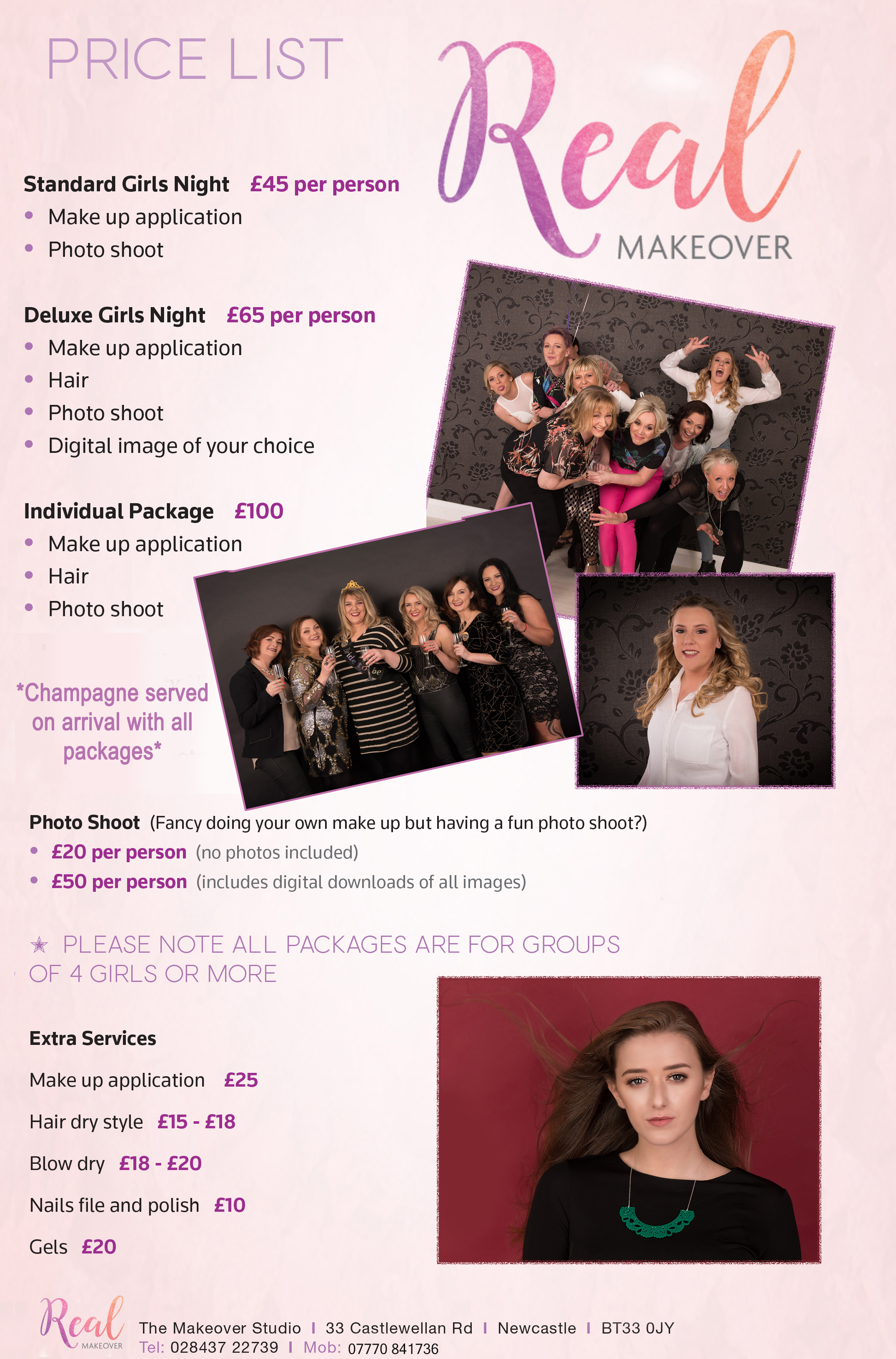 Download Hen Party Makeover Packages