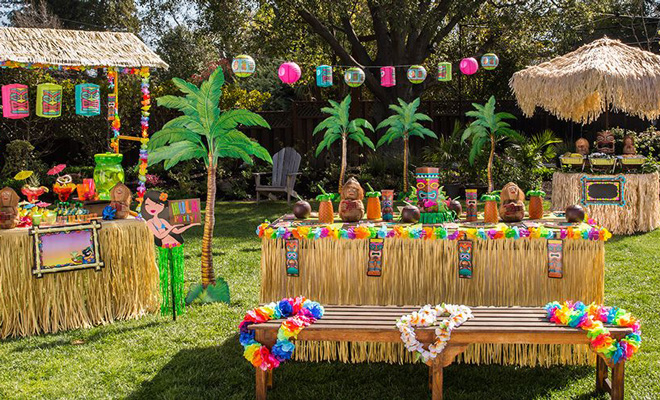 How to Throw a Tiki Hen Party