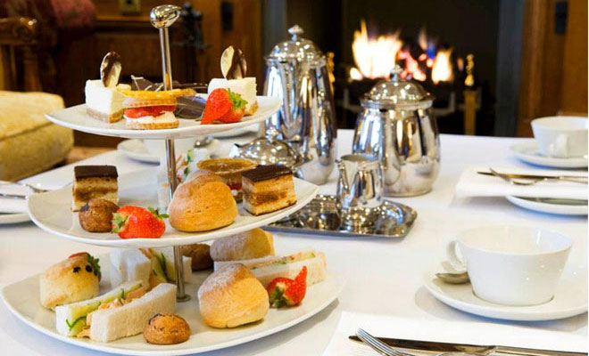 Afternoon Tea at Lough Erne Resort and Spa