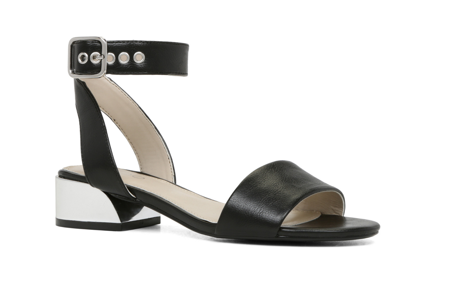 A Simpler Sandal Silhouette Comes In The Form Of Aldo S Riana Classic Black That Will See You Through This Season And Into Many More To