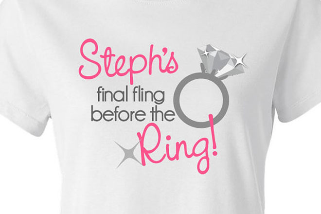 Add Humour To Your Hen Party T Shirts With This Quirky Message It Is Sure Have All The Las Giggling Aloud And Certainly Adds Fun Factor