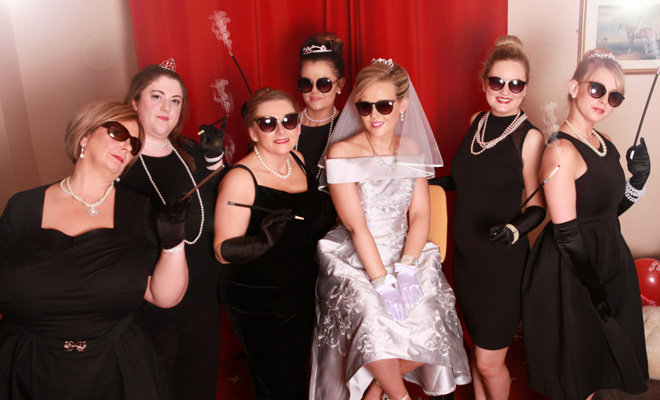 Hollywood Hen Party Photoshoot