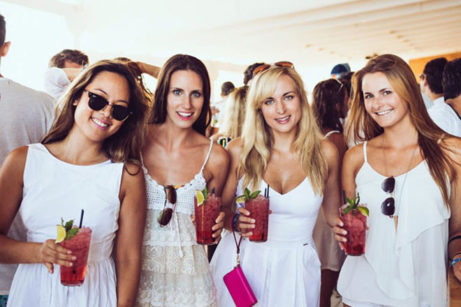 Stylish Hen Party Theme Ideas To Help Inspire You All White
