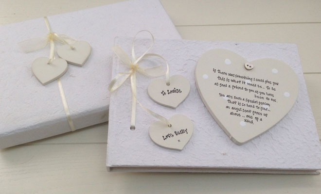 Nothing Will Make A Bride To Be Feel More Special Than Personalised Gift From Wines Gles With The And Groom S Names On Them