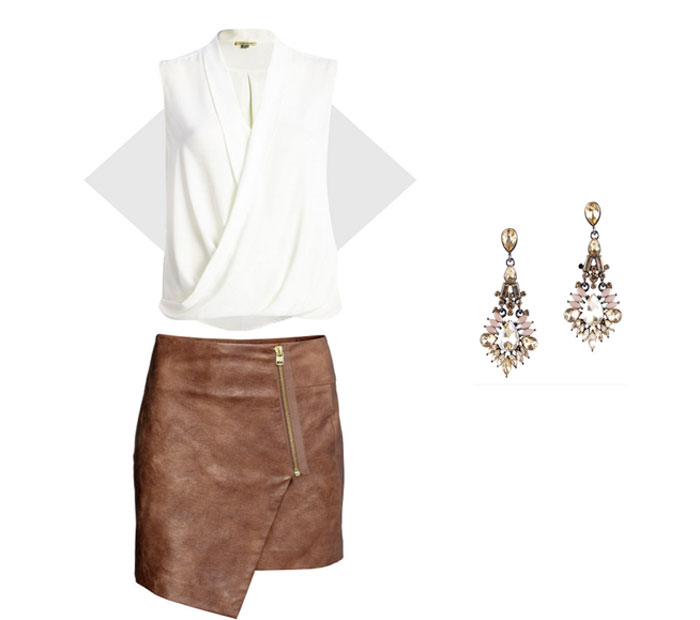 Leather Skirts, Fashionable Outfits, Outfits Ideas With Skirts ...