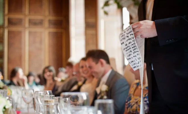 Best Man Speech on Wedding Day