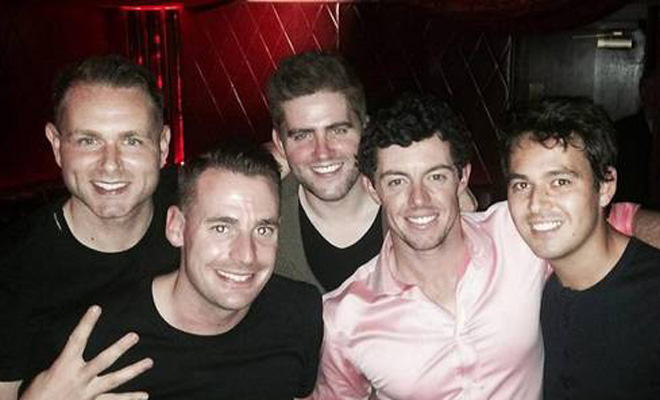 Rory McIlroy's Miami Stag Do