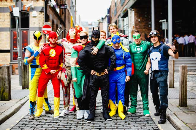 One Of The Most Obvious Group Costume Ideas Is To Dress Up As Superheroes Great Thing About This Idea That There No Shortage Heroes