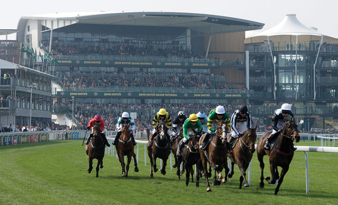 Aintree Racecourse in Liverpool