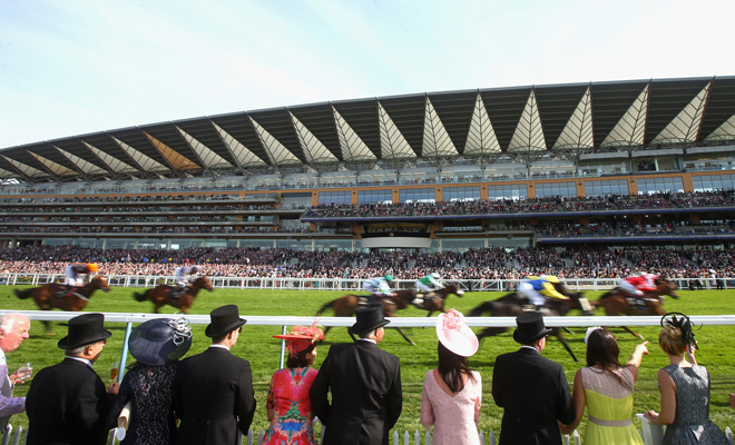 Ascot Racecourse in Berkshire
