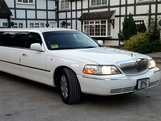 8 Seater Limousine Stag Do Package
