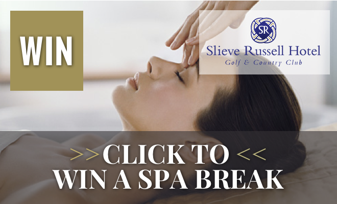 Win a Luxury Spa Break for 2 at Slieve Russell Hotel