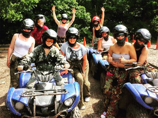 Hen Party Archery, Air Rifling and Quad Biking