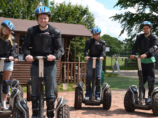 Hovercraft & Segways/Shredder Liverpool Hen Party