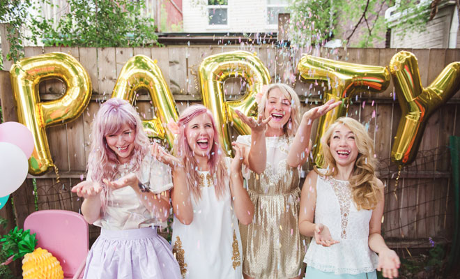 Fun Photo Hen Party Inspiration