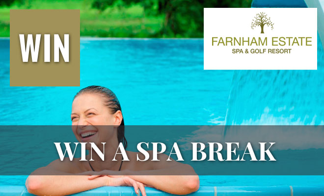 Win a Luxury Spa Break at Farnham Estate Spa & Golf Resort