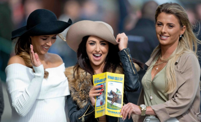 Hen Parties at Fairyhouse Easter Festival